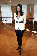 """La Rivers at b.michael America Spring 2010 Collection """" Advanced American Style """" held at Christie's in Rockefeller Plaza on September 16, 2009 in New York City."""