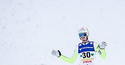 11.01.2014, Kulm, Bad Mitterndorf, AUT, FIS Ski Flug Weltcup, Bewerb, im Bild Robert Kranjec (SLO) // Robert Kranjec (SLO) during the FIS Ski Flying World Cup at the Kulm, Bad Mitterndorf, Austria on <br /> 2014/01/11, EXPA Pictures © 2014, PhotoCredit: EXPA/ JFK