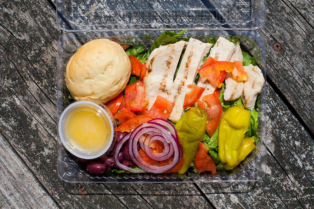 Greek Salad at Java Madness ($8.59) - WFRI