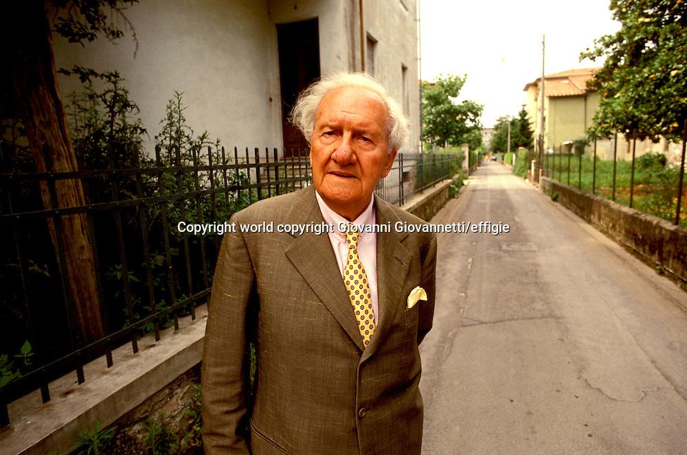 Mario Tobino<br />world copyright Giovanni Giovannetti/effigie / Writer Pictures<br /> <br /> NO ITALY, NO AGENCY SALES / Writer Pictures<br /> <br /> NO ITALY, NO AGENCY SALES