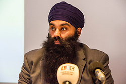 """Pictured:  Gurpreet Singh Johal, Jaggi's brother.<br /> <br /> This week marks 100 days since the arrest of Jagtar Singh Johal, a Scottish Sikh from Dumbarton who has been held by Indian police without charge since 4 November 2017.  The arrest came two weeks after Jagtar, also known as 'Jaggi"""" travelled to india from Scotland for his wedding.<br /> <br /> <br /> Ger Harley 