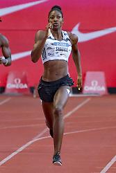 July 20, 2018 - Monaco, France - 400 metres dames - Shaunae Miller Uibo  (Credit Image: © Panoramic via ZUMA Press)