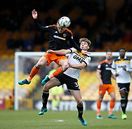 Paul Coutts of Sheffield Utd in action with Billy Reeves of Port Vale during the English League One match at Vale Park Stadium, Port Vale. Picture date: April 14th 2017. Pic credit should read: Simon Bellis/Sportimage