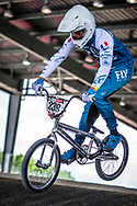 #239 (SERAZIN Jeremy) FRA at Round 5 of the 2019 UCI BMX Supercross World Cup in Saint-Quentin-En-Yvelines, France