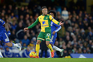 Nathan Redmond of Norwich City in action. Barclays Premier league match, Chelsea v Norwich city at Stamford Bridge in London on Saturday 21st November 2015.<br /> pic by John Patrick Fletcher, Andrew Orchard sports photography.