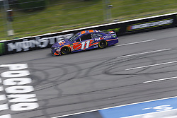 June 1, 2018 - Long Pond, Pennsylvania, United States of America - Denny Hamlin (11) brings his car down the frontstretch during qualifying for the Pocono 400 at Pocono Raceway in Long Pond, Pennsylvania. (Credit Image: © Chris Owens Asp Inc/ASP via ZUMA Wire)