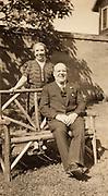 An elderly couple enjoying there retirement