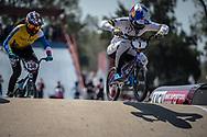 #7 (SAKAKIBARA Saya) AUS during practice at Round 9 of the 2019 UCI BMX Supercross World Cup in Santiago del Estero, Argentina