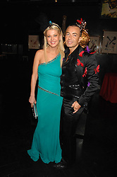 Actress TARA REID and designer JULIEN MACDONALD at Andy & Patti Wong's Chinese new Year party held at County Hall and Dali Universe, London on 26th January 2008.<br /><br />NON EXCLUSIVE - WORLD RIGHTS (EMBARGOED FOR PUBLICATION IN UK MAGAZINES UNTIL 1 MONTH AFTER CREATE DATE AND TIME) www.donfeatures.com  +44 (0) 7092 235465