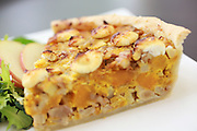 Slice of pumpkin tart.<br /> Ken Lambert / The Seattle Times