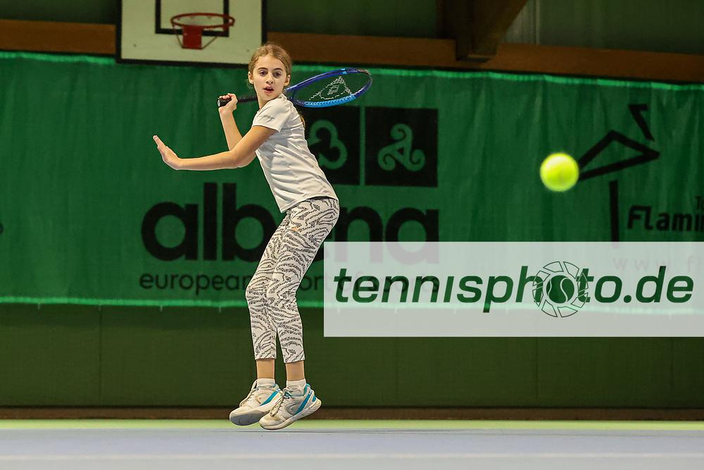 Im Bild: Milena Steinkamp <br /> <br /> TVBB Landeskader-Shooting Jugend, Berlin, TVBB Hüttenweg, 07.01.2021, <br /> <br /> Foto: Claudio Gärtner
