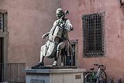 Monument to the composer Luigi Boccherini, Lucca, Tuscany, Italy