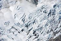 Crevasse patterns, North Cascades Washington