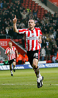 DAVID PRUTTON celebrates after he scored <br /> <br /> SOUTHAMPTON V MK DONS FA CUP THIRD RND 7.1.06 <br /> <br /> PHOTO SEAN RYAN FOTOSPORTS INTERNATIONAL