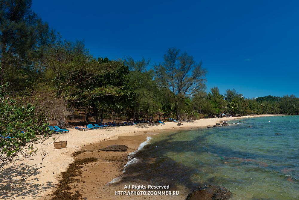 Northern tip of Ong Lang beach, Phuquoc, Vietnam
