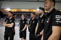March 30, 2019 - Sakhir, Bahrain - Motorsports: FIA Formula One World Championship 2019, Grand Prix of Bahrain, ..Mechanic of Mercedes AMG Petronas Motorsport  (Credit Image: © Hoch Zwei via ZUMA Wire)