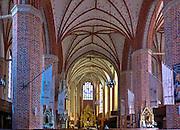 Wnętrze Kościoła Mariackiego w Trzebiatowie