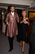 Prince Valentin Romanov and Mrs. Renate Deunger. The Grosvenor House Art and Antiques Fair charity Gala evening in aid of the NSPCC. 16 June2005. ONE TIME USE ONLY - DO NOT ARCHIVE  © Copyright Photograph by Dafydd Jones 66 Stockwell Park Rd. London SW9 0DA Tel 020 7733 0108 www.dafjones.com