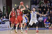 DESCRIZIONE : Eurocup 2015-2016 Last 32 Group N Dinamo Banco di Sardegna Sassari - Cai Zaragoza<br /> GIOCATORE : Tomas Bellas<br /> CATEGORIA : Tiro Tre Punti Three Point Controcampo<br /> SQUADRA : Cai Zaragoza<br /> EVENTO : Eurocup 2015-2016<br /> GARA : Dinamo Banco di Sardegna Sassari - Cai Zaragoza<br /> DATA : 27/01/2016<br /> SPORT : Pallacanestro <br /> AUTORE : Agenzia Ciamillo-Castoria/L.Canu