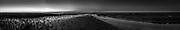 Nederland, Friesland, Noorderleeg, 28-11-2016; Noarderleech, buitendijks kweldergebied in de avondschemering. Onderdeel van kweldergebied Noard-Fryslân Bûtendyks. Winterversie.<br /> Salt marshes outssied the sea wall, evening twilight <br /> <br /> Gigapanorama (digital montage). <br /> copyright © 2019 foto/photo Siebe Swart