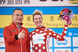Nina Kessler (NED) is the Queen of the Mountains at Tour of Chongming Island 2019 - Stage 1, a 102.7 km road race on Chongming Island, China on May 9, 2019. Photo by Sean Robinson/velofocus.com