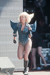 Lady Gaga, the ultra glam, Grammy nominated American pop singer-songwriter made her debut on the main stage at T in the Park, on Saturday 11th July, 2009.
