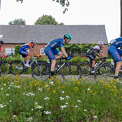 VELDHOVEN (NED) July 4 <br /> CYCLING <br /> The first race of the Schwalbe Topcompetition the Simac Omloop der Kempen<br /> Jasper Buchter (222)<br /> Wiebe Scholten (227)<br /> Christiaan Lubbers (95)<br /> Tibo Nevens (164)
