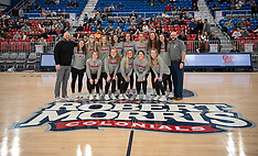 2020-02-01 Volleyball Honored at Men's Hoops