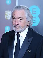 Robert De Niro, EE British Academy Film Awards, Royal Albert Hall, London, UK, 02 February 2020, Photo by Richard Goldschmidt