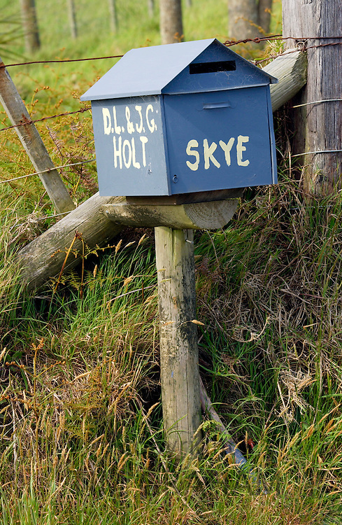 Mailbox, North Island, New Zealand