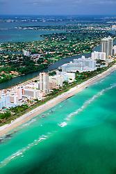 Miami Beach, Florida, Atlantic Ocean