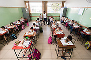 Itau de Minas_MG, Brasil.<br /> <br /> Na foto, alunos da Escola Municipal CARMELIA DRAMIS MALAGUTI, A escola foi a campea na prova do Ideb desse ano, no ensino fundamental, anos iniciais.<br /> <br /> In the photo, students of the Municipal School Carmelia DRAMIS MALAGUTI in Itau de Minas, Minas Gerais.<br /> <br /> Foto: LEO DRUMOND / NITRO