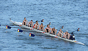 London, United Kingdom. Bern RC {SUI}  crew from Barnes Rail Bridge, 2014 Women's Head of the River Race. Chiswick to Putney, River Thames.  Saturday  15/03/2014    [Mandatory Credit; Peter Spurrier/Intersport-images]