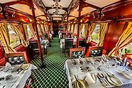 South Africa-Rovos Rail-Train Interiors-Dining Car