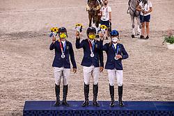 Team Australia, McNab Kevin, Rose Shane, Hoy Andrew<br /> Olympic Games Tokyo 2021<br /> © Hippo Foto - Dirk Caremans<br /> 02/08/2021