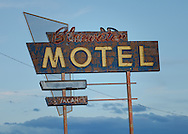 Bluewater Motel, Route 66, Bluewater, New Mexico