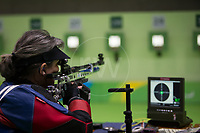 20160908 Copyright onEdition 2016©<br /> Free for editorial use image, please credit: onEdition<br /> <br /> Shooter Karen Butler, R2 - 10m Air Rifle Standing SH1 - Women, from Bristol, from Alridge, competing for ParalympicsGB at the Rio Paralympic Games 2016.<br />  <br /> ParalympicsGB is the name for the Great Britain and Northern Ireland Paralympic Team that competes at the summer and winter Paralympic Games. The Team is selected and managed by the British Paralympic Association, in conjunction with the national governing bodies, and is made up of the best sportsmen and women who compete in the 22 summer and 4 winter sports on the Paralympic Programme.<br /> <br /> For additional Images please visit: http://www.w-w-i.com/paralympicsgb_2016/<br /> <br /> For more information please contact the press office via press@paralympics.org.uk or on +44 (0) 7717 587 055<br /> <br /> If you require a higher resolution image or you have any other onEdition photographic enquiries, please contact onEdition on 0845 900 2 900 or email info@onEdition.com<br /> This image is copyright onEdition 2016©.<br /> <br /> This image has been supplied by onEdition and must be credited onEdition. The author is asserting his full Moral rights in relation to the publication of this image. Rights for onward transmission of any image or file is not granted or implied. Changing or deleting Copyright information is illegal as specified in the Copyright, Design and Patents Act 1988. If you are in any way unsure of your right to publish this image please contact onEdition on 0845 900 2 900 or email info@onEdition.com