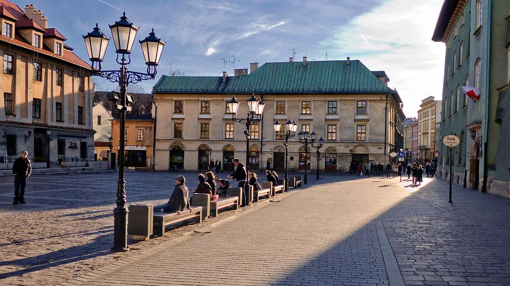 Mały Rynek w Krakowie, Polska<br /> Small Market Square in Cracow, Poland