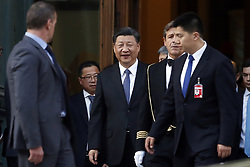 Italy, Rome - March 22, 2019.Xi Jinping, president of the Chinese Democratic Republic visits the President of the Lower Chamber. (Credit Image: © Zucchi/Insidefoto/Ropi via ZUMA Press)
