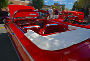 Antique Auto Show 61-62 Chevrolet convertible, Millville, NJ, USA