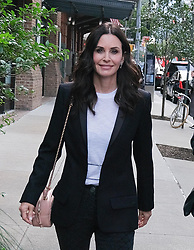 October 16 2018, New York City<br /> <br /> Courteney Cox arriving at the 'Through Her Lens: The Tribeca Chanel Women's Filmmaker Program Luncheon' at Locanda Verde on October 16, 2018 in New York City.