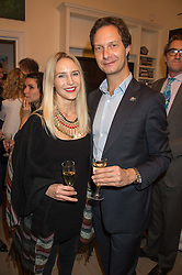 MARY POWYS and PATRICK ASSEMAN at a reception to celebrate the publication of Quicksilver by HRH Princess Michael of Kent held at the home of Richard & Basia Briggs, 35 Sloane Gardens, London on 9th November 2015.