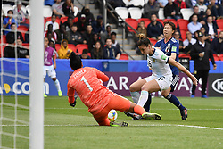 June 10, 2019 - Paris, ile de france, France - Aldana COMETTI (ARG) and Vanina CORREA (ARG) in Action during the match between Argentina and Japan at the 2019 World cup  on June 10, 2019, at the Parc des Princes stadium in Paris, France. (Credit Image: © Julien Mattia/NurPhoto via ZUMA Press)