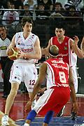 DESCRIZIONE : Roma Lega A1 2006-07 Lottomatica Virtus Roma Whirlpool Varese <br /> GIOCATORE : Lorbek <br /> SQUADRA : Lottomatica Virtus Roma <br /> EVENTO : Campionato Lega A1 2006-2007 <br /> GARA : Lottomatica Virtus Roma Whirlpool Varese <br /> DATA : 25/04/2007 <br /> CATEGORIA : <br /> SPORT : Pallacanestro <br /> AUTORE : Agenzia Ciamillo-Castoria/G.Ciamillo