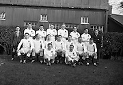 Irish Rugby Football Union, Ireland v England, Five Nations, Landsdowne Road, Dublin, Ireland, Saturday 14th February, 1959,.14.2.1959, 2.14.1959,..Referee- D Gwynne Walters, Welsh Rugby Union, ..Score- Ireland 0 - 3 England, ..English Team, ..J G G Hetherington, Wearing number 1 English jersey, Full Back, Northhampton Rugby Football Club, Northhampton, England, ..P H Thompson, Wearing number 5 English jersey, Left Wing, Waterloo Rugby Football Club, Liverpool, England,..J Butterfield, Wearing number 4 English jersey, Captain of the English team, Left Centre, Northhampton Rugby Football Club, Northhampton, England, ..M S Phillips, Wearing number 3 English jersey, Right centre, Oxford University Rugby Football Club, Oxford, England,..P B Jackson, Wearing number 2 English jersey, Right Wing, Coventry Rugby Football Club, Coventry, England, ..A B W Risman, Wearing number 6 English jersey, Outside Half, Manchester University Rugby Football Club, Manchester, England,..S R Smith, Wearing number 7 English jersey, Scrum Half, Cambridge University Rugby Football Club, Cambridge, England,..L H Webb, Wearing number 8 English jersey, Forward, Bedford Rugby Football Club, Bedford, England,..J A S Wackett, Wearing number 9 English jersey, Forward, Rosslyn Park Rugby Football Club, London, England,..G J Bendon, Wearing number 10 English jersey, Forward, Wasps Rugby Football Club, London, England,..R W D Marques, Wearing number 11 English jersey, Forward, Harlequins Rugby Football Club, London, England,..J D Currie, Wearing number 12 English jersey, Forward, Harlequins Rugby Football Club, London, England,..A J Herbert, Wearing number 13 English jersey, Forward, Wasps Rugby Football Club, London, England,..A Ashcroft, Wearing number 14 English jersey, Forward, Waterloo Rugby Football Club, Liverpool, England,..J W Clements, Wearing number 15 English jersey, Forward, Old Cranleighans Rugby Football Club, Surrey, England,