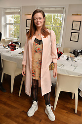 DAISY CECIL at a lunch to promote the jewellery created by Luis Miguel Howard held at Morton's, Berkeley Square, London on 20th October 2016.