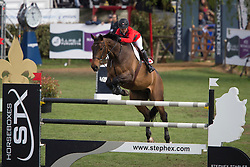 Etter-Pellegrin Marie, (SUI), Admirable <br /> Furusiyya FEI Nations Cup of Belgium<br /> Longines Spring Classic of Flanders - Lummen 2015<br /> © Hippo Foto - Leanjo de Koster<br /> 01/05/15