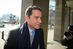 ©  London News Pictures. 28/04/2016. London, UK. NATHANIEL MEYOHAS, Partner, Greybull Capital LLP arrives at Portcullis House in London to give evidence to the Commons Business Committee on the future of British steel. TATA Steel. The future of Tata Steel has been in doubt since it announced it would sell its loss-making UK business. Photo credit: Ben Cawthra/LNP