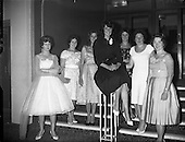 1959 Miss World at Top Hat Ballroom, Dun Laoighaire
