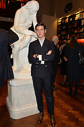 ALEX ASSOULINE at a party to celebrate the launch of the Maison Assouline Flagship Store at 196a Piccadilly, London on 28th October 2014.  During the evening Valentino signed copies of his new book - At The Emperor's Table.